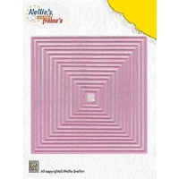 Nellie's Multi Frames Dies Straight Square MFD056