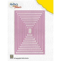 Nellie's Multi Frames Dies Straight Rectangle MFD058