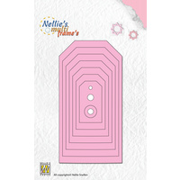 Nellie's Multi Frames Dies Straight Tags MFD076