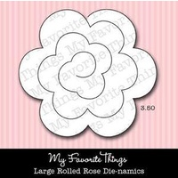 My Favourite Things Dienamics MFT081 Large Rolled Rose Die