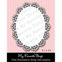 My Favourite Things Dienamics MFT104 OVAL Decorative Doily Die