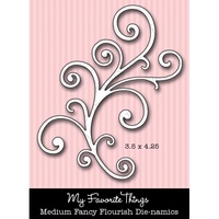 My Favourite Things Dienamics MFT231 Medium Fancy Flourish Die