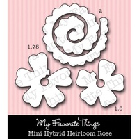 My Favourite Things Dienamics MFT269 Mini Hybrid Heirloom Rose Die