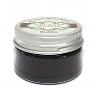 Creative Expressions Metallic Micro Beads - Black 50g