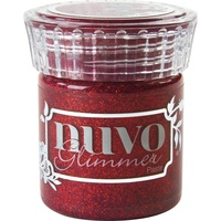 Nuvo Glimmer Paste 45gms Garnet Red