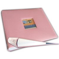 12x12 Ring Binder Scrapbooking Photo Album Pink
