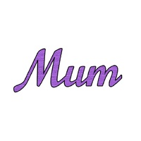 Presscut Cutting and Embossing Die Mum