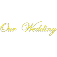 Presscut Our Wedding Die PCD95 FREE SHIPPING