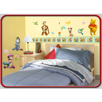 Decorative Wall Stickers Decorate in Minutes Disney Tigger & Pooh 44  Large Stickers
