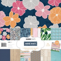 Kaisercraft 12x12 Paper Pack Havana Nights with BONUS Stickers