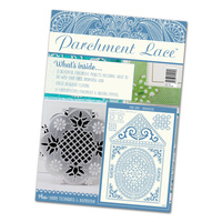 Parchment Lace Magazine 2 with Free Grid Bird House