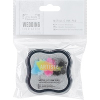 Artiste Ever After Wedding Pigment Ink Pad Metallic Silver