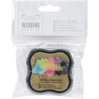 Artiste Ever After Wedding Pigment Ink Pad Metallic Gold