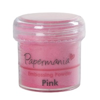 Papermania Embossing Powder Pink 28g