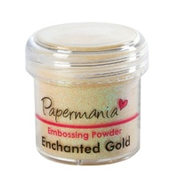 Papermania Embossing Powder Enchanted Gold 28g