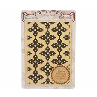 PAPERMANIA Embossing Folder A Silent Night, Ornate Background 10.5cm x 15cm