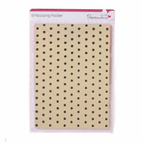 PAPERMANIA Embossing Folder Mini Polka 10.5cm x 15cm
