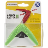 Compact Corner Punch II Makes Perfect Rounded and Inverted Corners Small