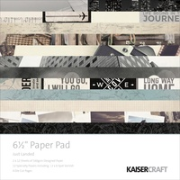Kaisercraft Paper Pad Just Landed 6.5X6.5 40/Pkg