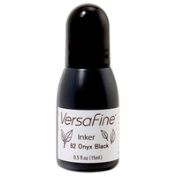 Versafine Ink Refill 15ml  Onyx Black