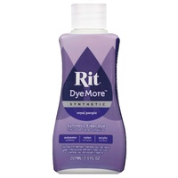 Rit Dye More Synthetic Liquid 207ml Royal Purple