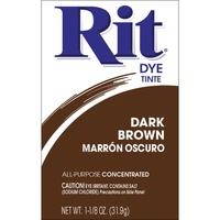 Rit Dye Powder Dark Brown