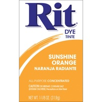 Rit Dye Powder Sunshine Orange