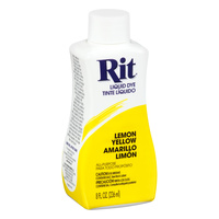 Rit Dye Liquid 236ml Lemon Yellow