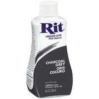 Rit Dye Liquid 236ml Charcoal Grey