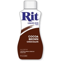 Rit Dye Liquid 236ml Cocoa Brown