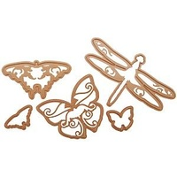 Spellbinders Shapeabilities Flying Beauties Butterflies, Dragonflies S4-123