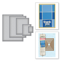 Spellbinders Nestabilities Classic Rectangles Small S4-130