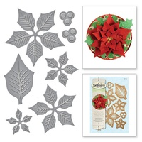 Spellbinders Shapeabilities Layered Poinsettia S5-055