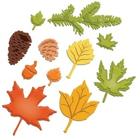 Spellbinders Shapeabilities Fall Foliage S5-120