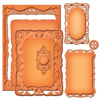 Spellbinders Nestabilities Majestic Elements Nobel Rectangle S5-190