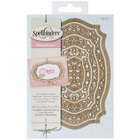 Spellbinders Die Elements Adorning Labels TwentyFive S5-210