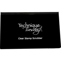 Technique Tuesday Clear Stamp Scrubber Pad