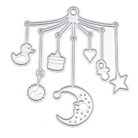 Craft Dies Baby Cot Mobile