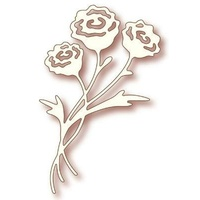Wild Rose Studio Craft Die Rose Bunch