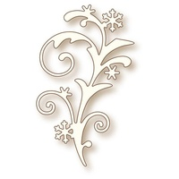 Wild Rose Studio Craft Die Snow Flourish
