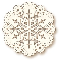 Wild Rose Studio Craft Die Snow Doily