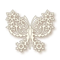 Wild Rose Studio Craft Die Frosted Butterfly