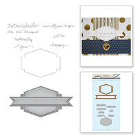 Spellbinders Stamp & Die Set Totally You SDS-006