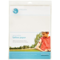 Silhouette Temporary Tattoo Paper 8.5 x 11 2/Pkg FREE SHIPPING