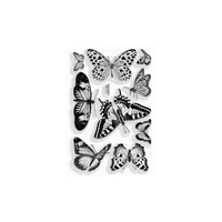 Stampendous Perfectly Clear Stamps Butterflies