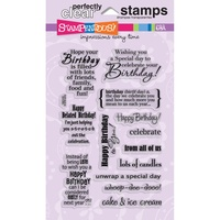 Stampendous Fran's Clear Stamps Birthday Assortment