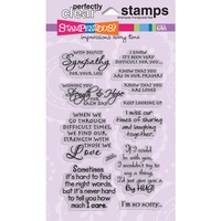 Stampendous Fran's Clear Stamps Sincere Sentiments