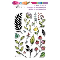 Stampendous Fran's Clear Stamps Fronds