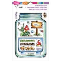 Stampendous Fran's Clear Stamps - Terrarium FREE SHIPPING