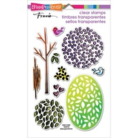 Stampendous Fran's Clear Stamps Tree Parts